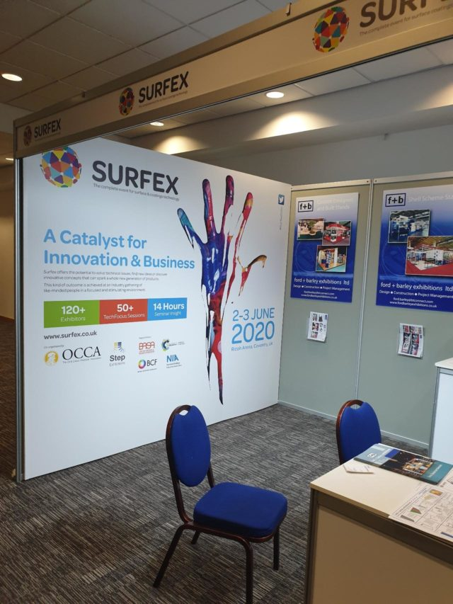 open day stand - Surfex Sep Image